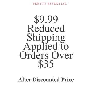 $9.99 Reduced Shipping Applied to Orders Over $35